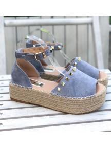 NŐI SZANDÁL ECUADOR BLUE